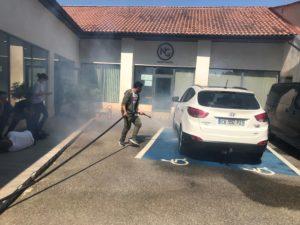 SSIAP extinction feu véhicule